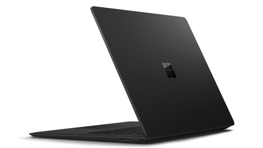 Surface laptop 2 rear view